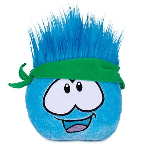 Club Penguin Series 12 Blue Puffle Plush [Bandana]