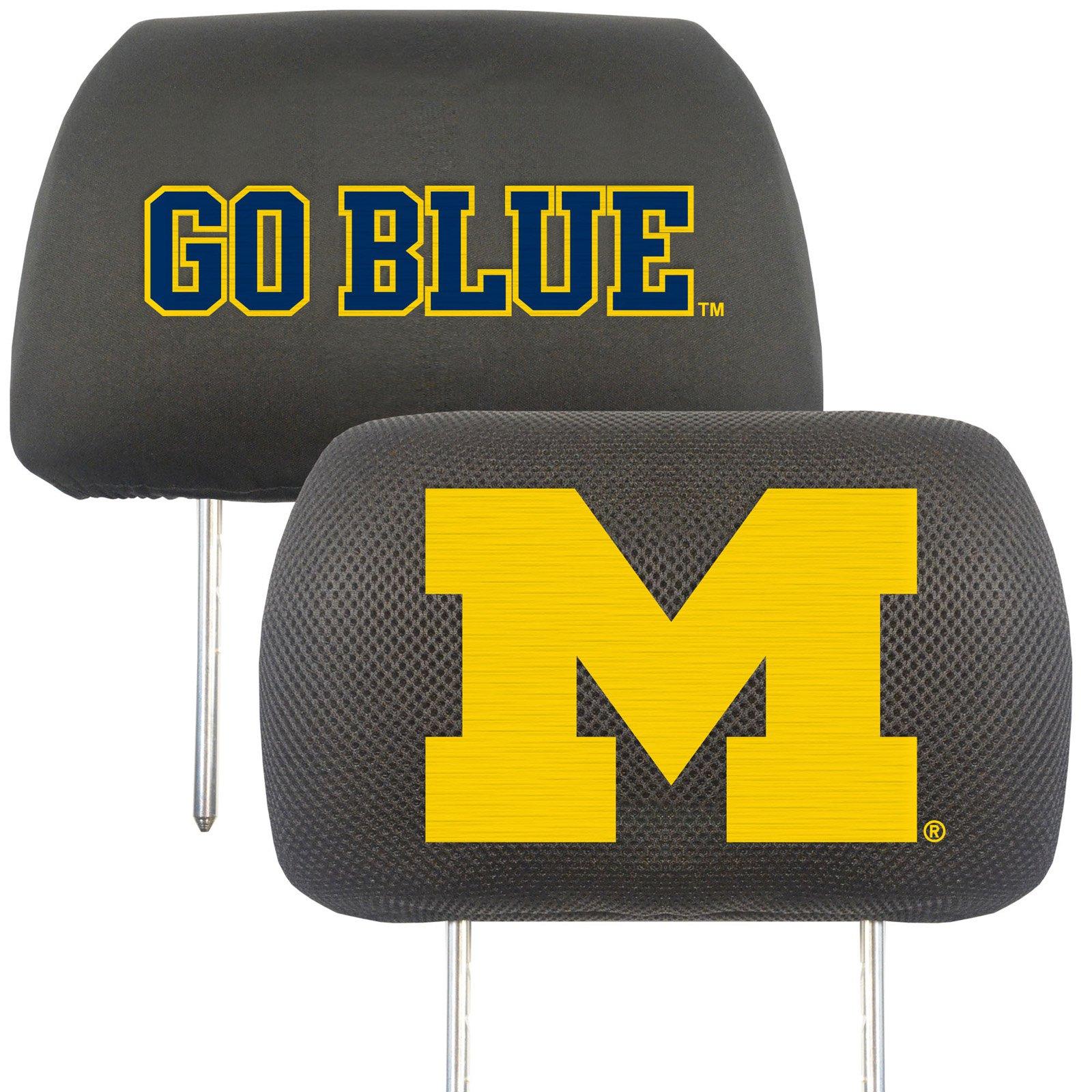 University of Michigan Headrest Covers