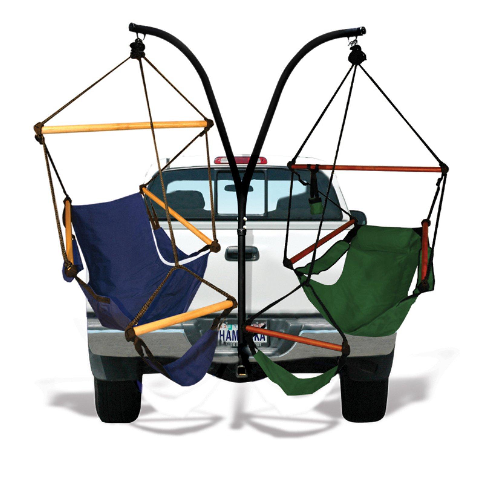 Superieur Hammaka Trailer Hitch Hanging Chair Stand With Hammaka Chairs   Walmart.com