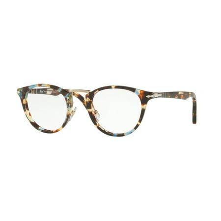 65d4c6ebd7 Eyeglasses Persol PO 3107 V 1058 HAVANA AZURE BROWN - Walmart.com