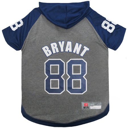e6c296b49 NFLPA Dez Bryant Hoodie Tee Shirt for Dogs and Cats - Walmart.com