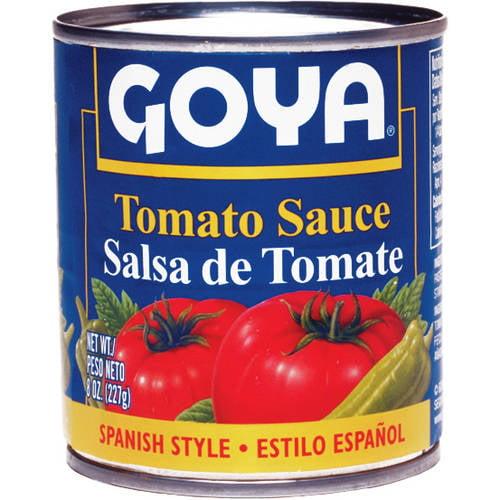 Goya Tomato Sauce, 8 oz (Pack of 24)