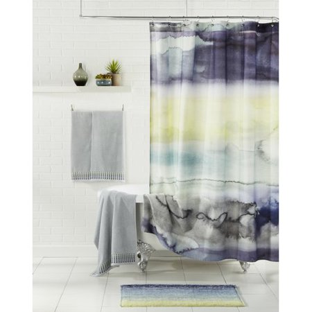 Bluebellgray Morar Cotton Shower Curtain