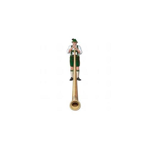 Beistle Company Jointed Alpine Horn Cutout