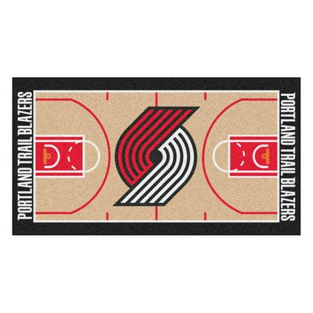 NBA - Portland Trail Blazers NBA Court Runner 24x44 (Wolverine Trail Runner)