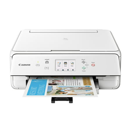 Canon PIXMA TS6120 White Wireless Inkjet All-in-One - 8163 White Inkjet