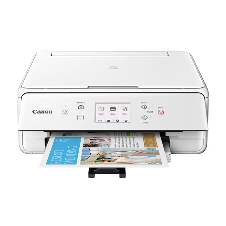 Canon PIXMA TS6120 White Wireless Inkjet All-in-One (Best Canon Printer For Mac)