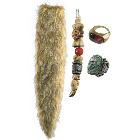 Disney Pirates Caribbean Capt. Jack Sparrow Costume Accessory Child - Jack Sparrow Kids Costume