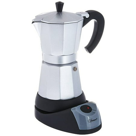 Electric Cuban Espresso Coffee Maker 6 Cups (Clean Coffee Maker)