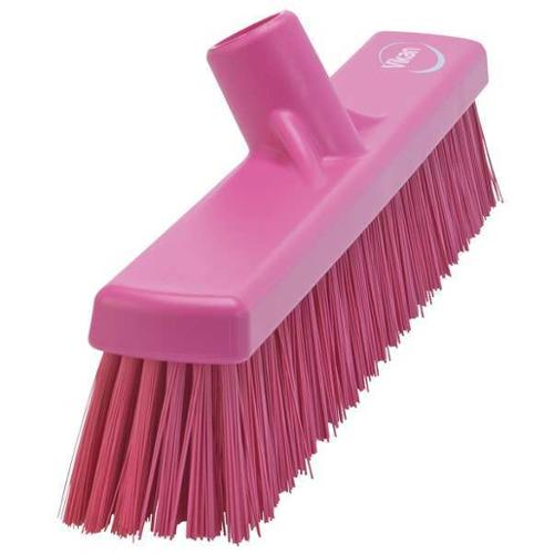 VIKAN VIKAN Pink Polyester Fine Sweeping Combo Floor Broom, 31741