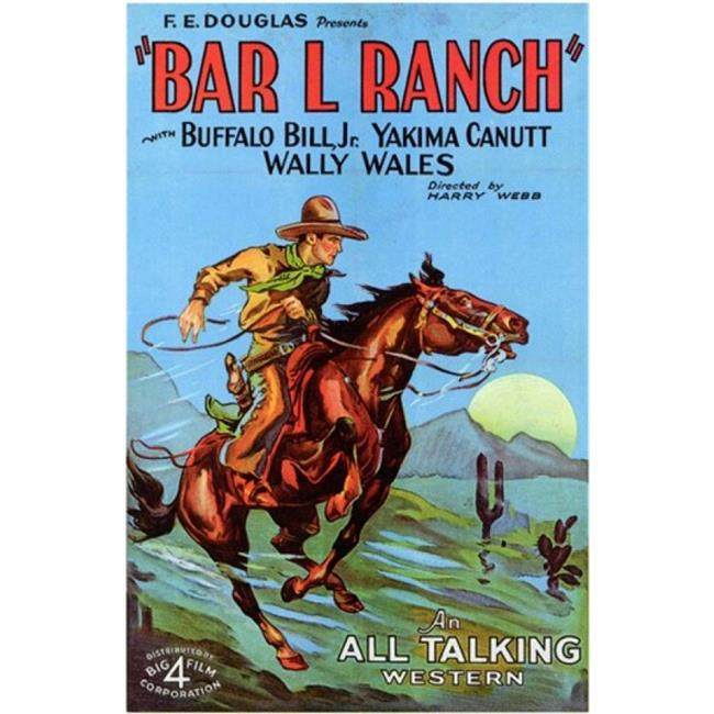 Posterazzi MOV200140 Bar L Ranch Movie Poster - 11 x 17 in. - image 1 of 1
