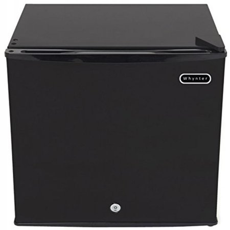 Whynter CUF-110B Energy Star 1.1 Cubic Feet Upright Freezer with Lock, Black