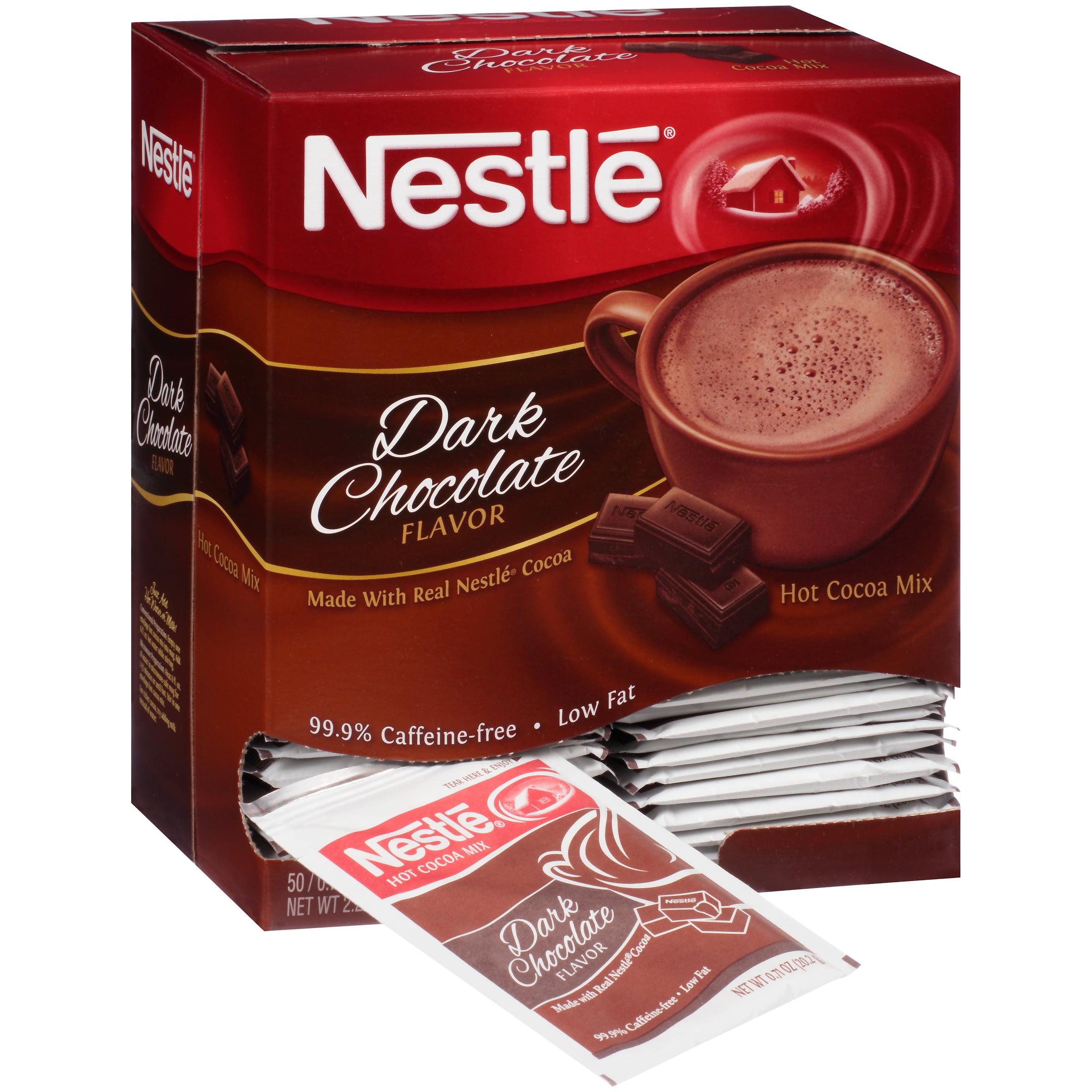 Nestlé Dark Chocolate Hot Cocoa Mix 50-0.71 oz. Envelopes ...