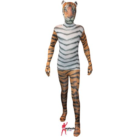 Original Morphsuits Tiger Adult Suit Animal Planet Morphsuit X-Large