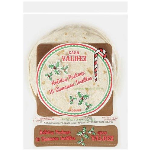 Casa Valdez Cinnamon Tortillas, 10ct