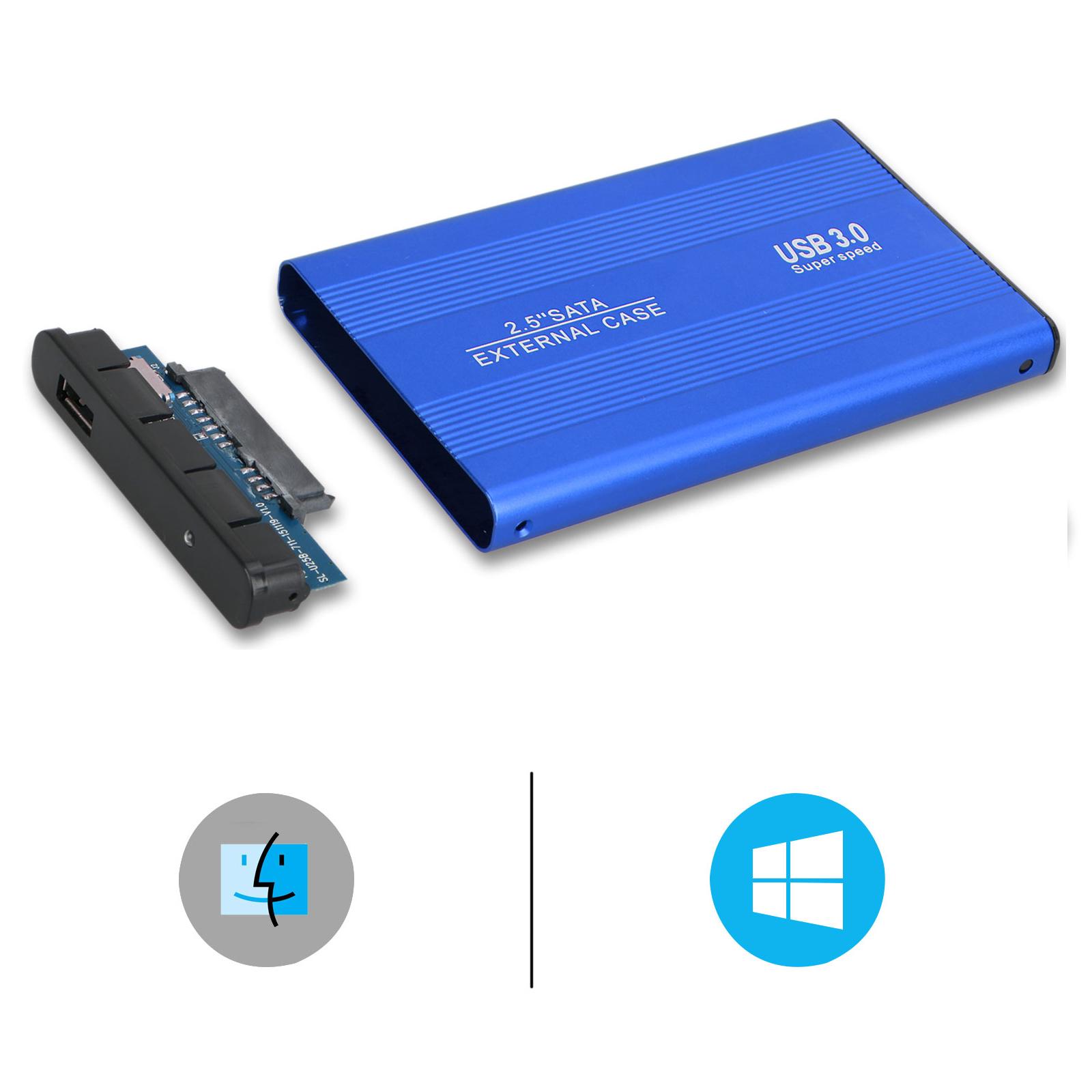 EEEKit Portable External Hard Drive Enclosure Adapter USB 3.0 to SATA Hard Disk Case Housing for 2.5 Inch
