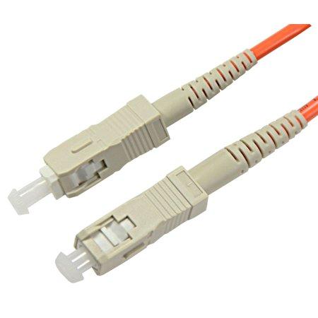 Multimode Simplex Patch Cord - 1m SC-SC Simplex 62.5/125um OM1 Multimode Patch Cord
