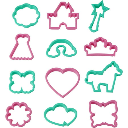 Wilton Girl's Cookie Cutter Set