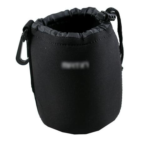 Neoprene Soft DSLR Camera Lens Pouch Case Bag to protect Lens (M) ()