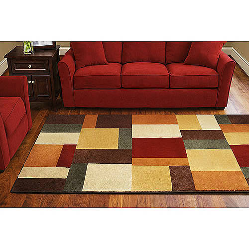Mohawk Color Block Rug Walmart Com