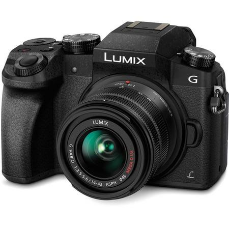 Panasonic Lumix DMC-G7 Mirrorless Micro Four Thirds Digital Camera with 14-42mm Lens