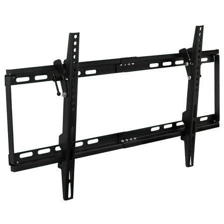 "Mount-It! Tilting TV Wall Mount Slim for 32"" 40"" 43"" 50"" 55"" 60"" 65"" Inch Flat Screen TVs (Slim Tv Mounts For Flat Screens)"