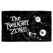 Twilight Zone Another Dimension Bath Towel White 27X52