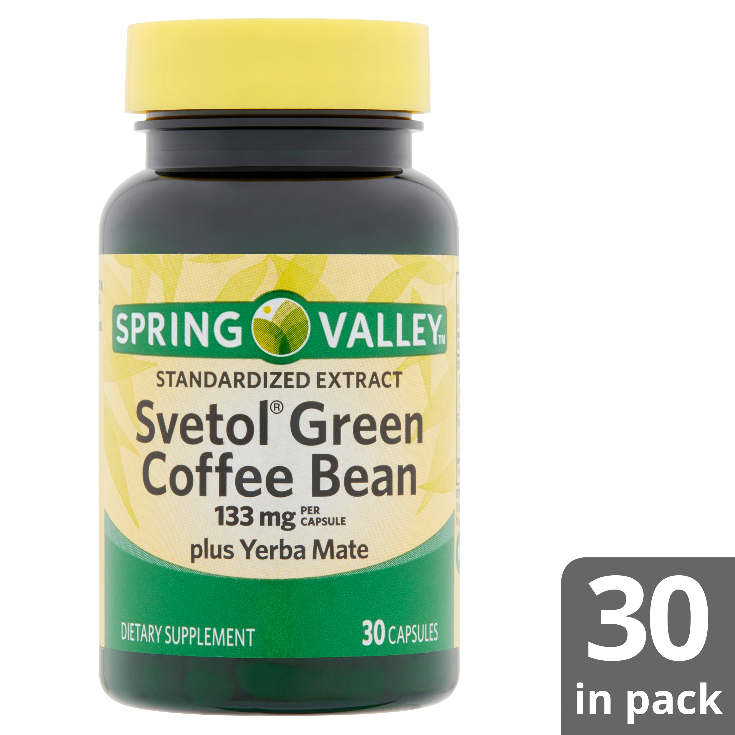 Spring Valley Svetol Green Coffee Bean Extract For Weight Loss 133 Mg 30 Capsules Walmart Com Walmart Com