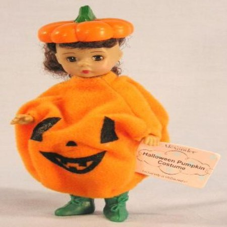Madame Alexander Doll - Halloween Pumpkin Costume - McDonald's 2003 #05 - Mcdonalds Halloween Mcnuggets