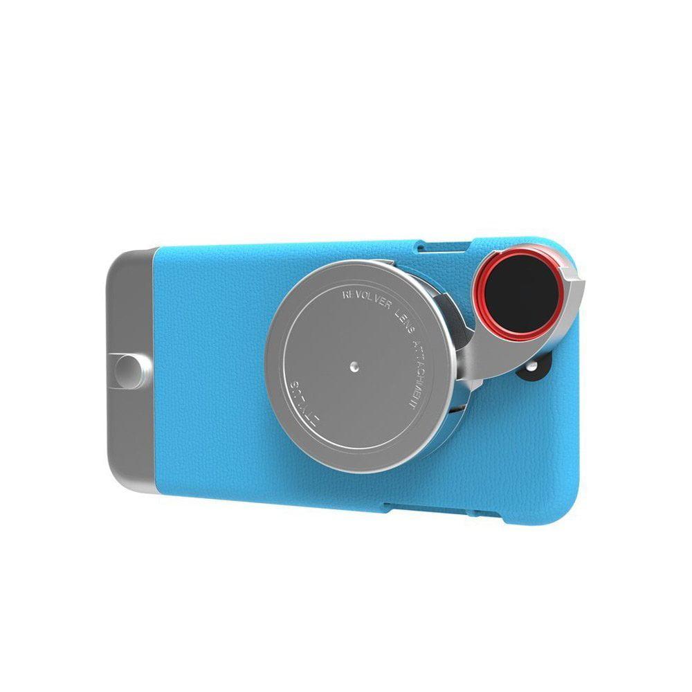 iPhone 6 Plus Metal Series Camera Kit w/ 4-in-1 Lens Atta...