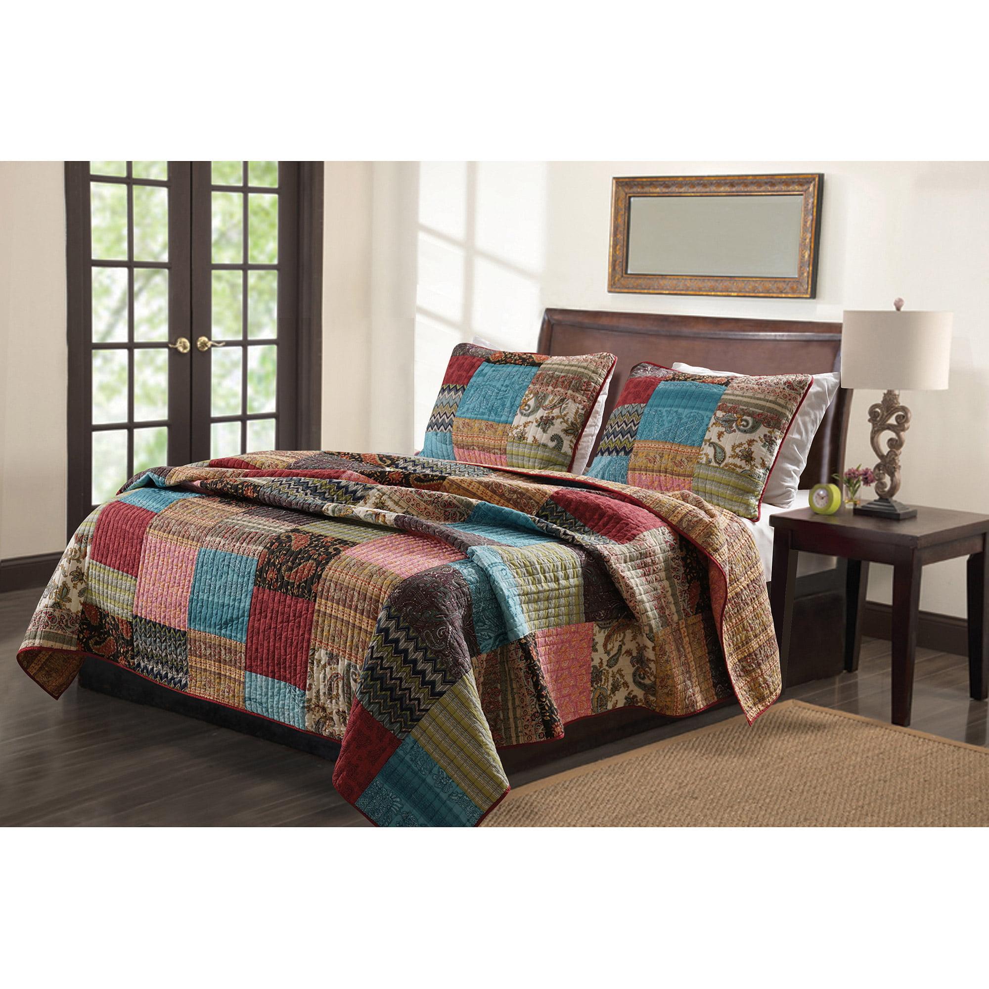 Global trends napa quilt bedding set walmart com