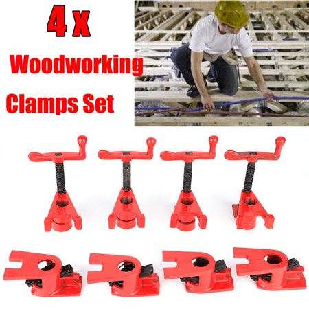 Hilitand 4 Set 3 4 Quick Release Heavy Duty Wide Base Iron Wood