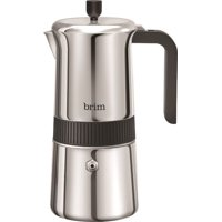 Brim - 6-Cup Coffee Maker - Stainless Steel