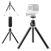 Tripod Stand Portable Holder Mount For Compact Camera Camcorder GoPro Hero, Black