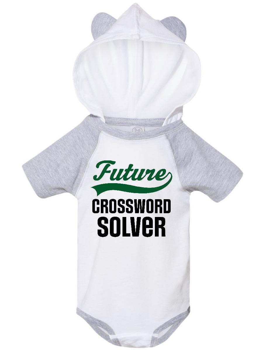 Inktastic Future Crossword Puzzle Solver Infant Creeper Walmart Com Walmart Com