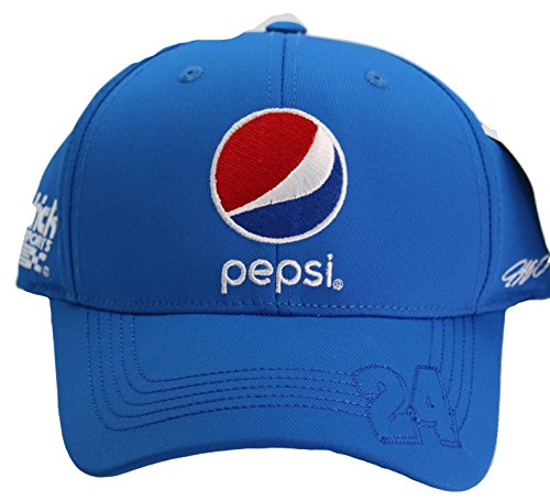 NASCAR Jeff Gordon #24 Checkered Flag Pepsi Hat Cap Flex Fit