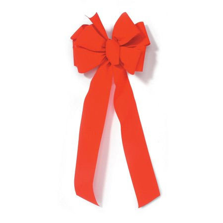 Red Velvet Christmas Bow: Number 40](Colorful Bows)