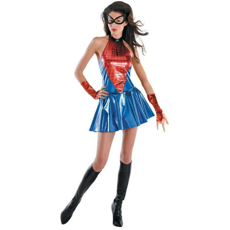 Marvel Spider Girl Sassy Deluxe Teen Costume Teen 7-9 - Marvel Spider Girl Costume