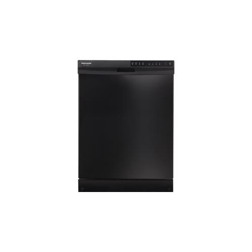 "Frigidaire Gallery 24"" Tall Tub Built-In Dishwasher Black FGBD2434PB"