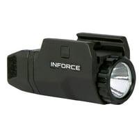 InForce APLc Compact LED Light For Compact Pistols 200 Lumens, Black - AC-05-1