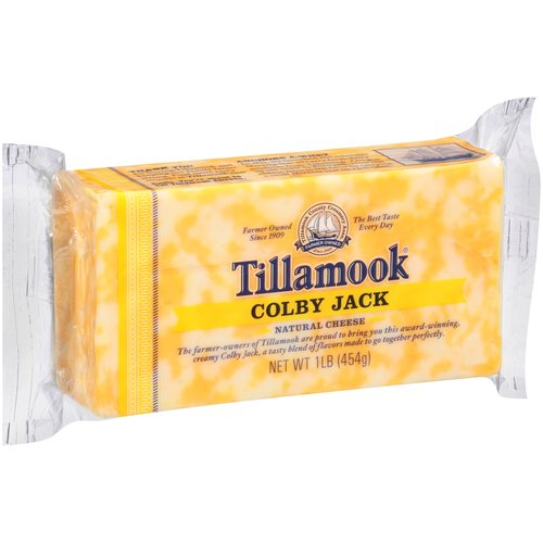 Tillamook Colby Jack Cheese, 16 oz