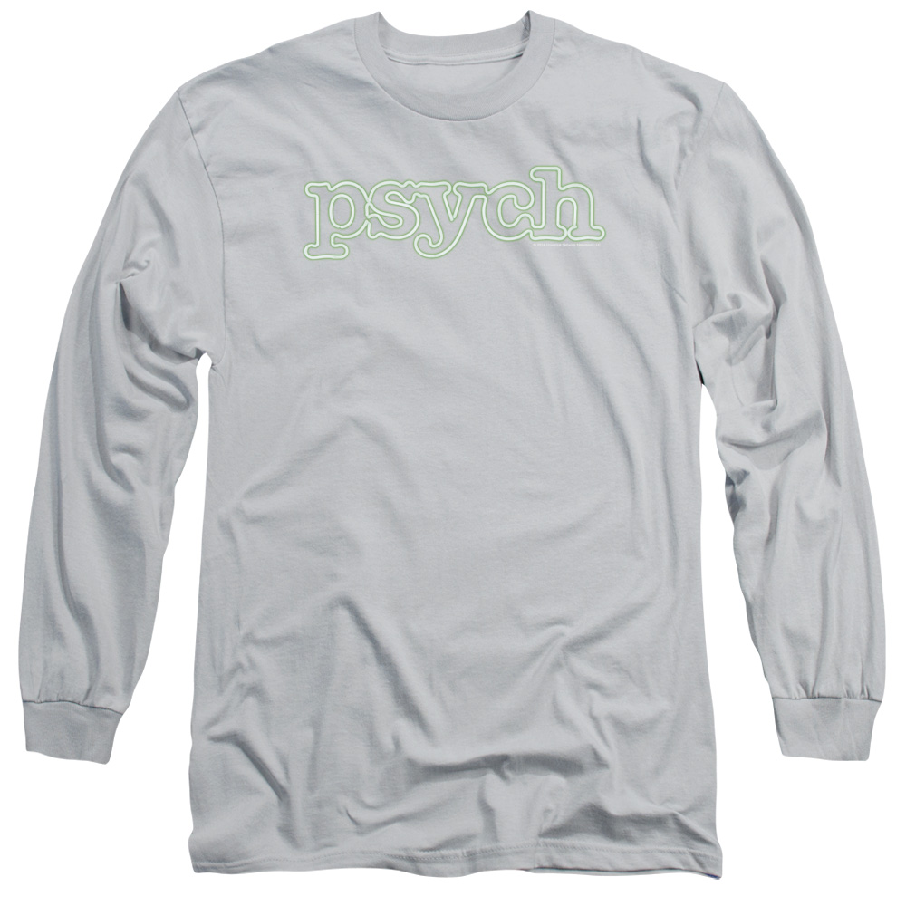 Psych Neon Sign Mens Long Sleeve Shirt