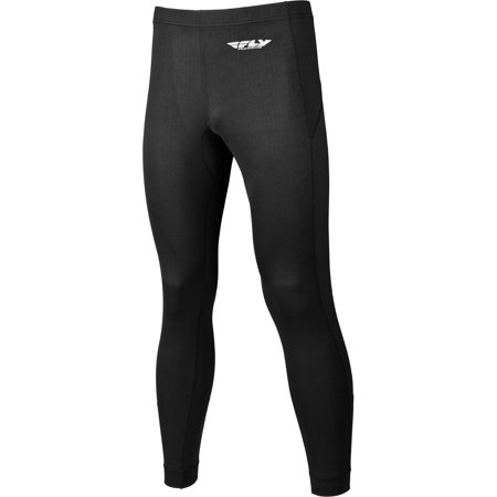Fly Racing Black Heavyweight Base Layer Pants Size Small 354-6313S