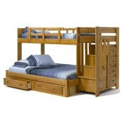 100 in. Twin Over Full Bunk Bed