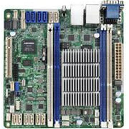 ASRock C2750D4I Intel Avoton C2750 2.4GHz- DDR3- SATA3- V&2GbE- Mini-ITX Motherboard & CPU (Asrock Ddr3 Motherboard)