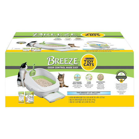 Purina Tidy Cats Breeze Cat Litter Box System Starter Kit - Halloween Kitty Litter Box Cake