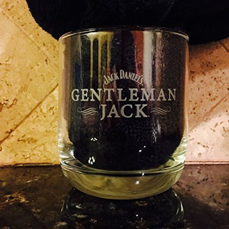 Gentleman Jack Whiskey Snifter Glass | Set of 2 Glasses, Weight: 14oz By Jack Daniels Distillery,USA