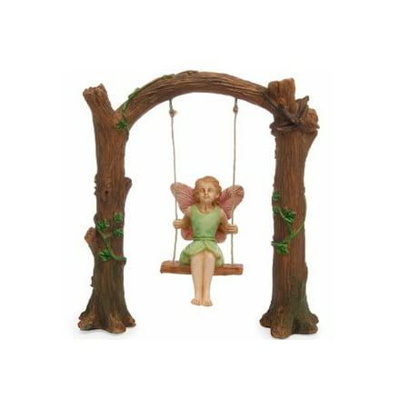 Fairy Garden - Arch Swing - Miniature - Decorative Arch