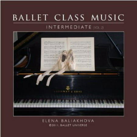 Ballet Class Music Vol. 2 Intermediate (CD) Ballet Class Music Cd