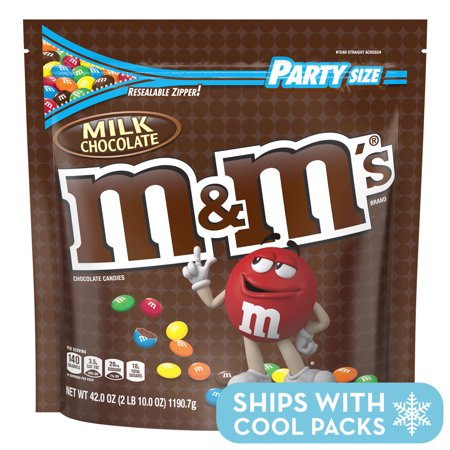 M&M's, Milk Chocolate Candy, Party Size, 42 (Harry Chocolate Shop)